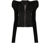 Jacke mit betonten Schultern