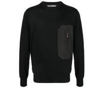 Pullover mit Reißverschlusstasche