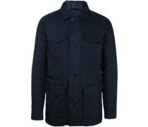 pocketed padded jacket