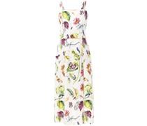 Kleid mit botanischem Print