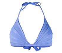 Triangel-Bikinioberteil mit Pailletten