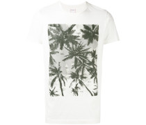 T-Shirt mit Palmen-Print - men - Baumwolle - M