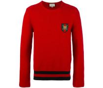 Pullover mit Web-Patch - men - Baumwolle - XL