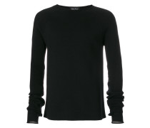 ribbed detail jumper