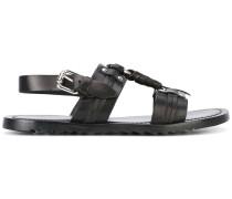 Sandalen mit Metalldetails - men - Leder/rubber