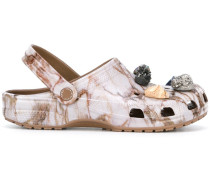 'Crocs' Sandalen mit Schmucksteinen