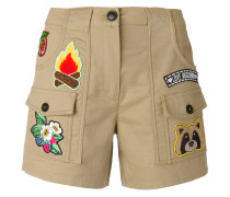 Cargo-Shorts mit Patches