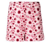 Shorts mit Blumen-Print - women