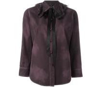 - Bluse mit Schleifenkragen - women - Baumwolle