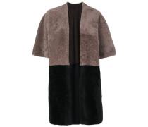 Kimonojacke in Colour-Block-Optik
