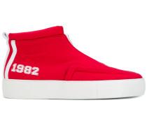 High-Top-Sneakers mit Reißverschlussdetail