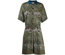 Anzug mit botanischem Print