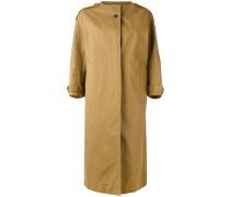 Mantel ohne Kragen - women - Baumwolle - 36