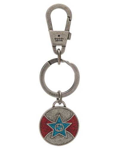 Schlüsselanhänger mit Glitter-Logo