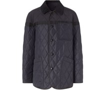 quilted nylon canvas barn jacket