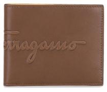 - Portemonnaie mit Logo-Prägung - men