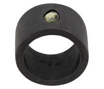 'Sistema' Ring mit Saphir
