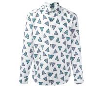 'Bermudas Triangel' Hemd - men - Baumwolle - 38
