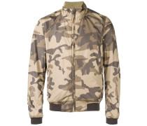 Bomberjack in Camouflage-Optik