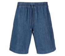 A.P.C. Jeans-Shorts mit Kordelzug