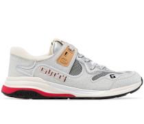 'Ultrapace' Sneakers in Metallic-Optik