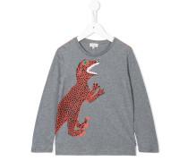 Langarmshirt mit Dinosaurier-Print
