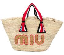woven beach bag