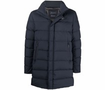 Gefütterter Mantel mit Reißverschluss
