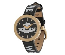 'Orb' Armbanduhr mit Logo