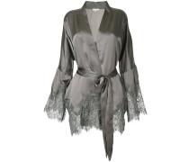 scalloped lace jacket