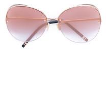 Oversized-Sonnenbrille mit rosa Gläsern - men