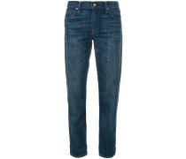 Gerade Jeans in Washed-Optik