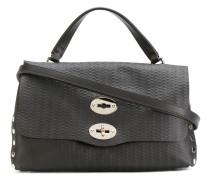 'Postina' Handtasche mit eingeprägtem Muster