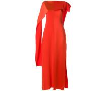 Kleid mit drapierten Ärmeln