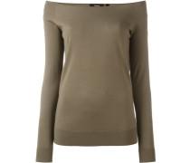 Pullover mit U-Boot-Ausschnitt - women