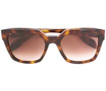 Rechteckige Sonnenbrille - women - Acetat - 54