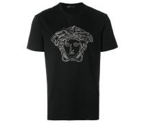 T-Shirt mit Medusa-Verzierung
