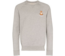 "Sweatshirt mit ""Lotus Fox""-Stickerei"