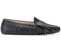 fringed slip-on loafers