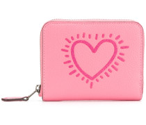 X Keith Haring small zip around wallet