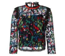 Bestickte Bluse - women - Polyester - 12