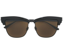 Cat-Eye-Sonnenbrille - unisex - Metall (andere)