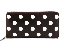 'Polka Dots Printed' Portemonnaie