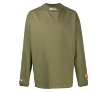 Pullover mit besticktem Kragen