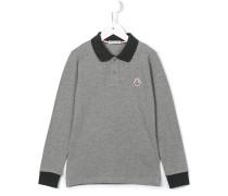 Poloshirt mit langen Ärmeln - kids - Baumwolle