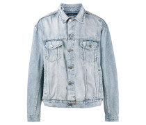 x Travis Scott Oh G Ghosted denim jacket