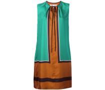 Seidenkleid in Colour-Block-Optik - women