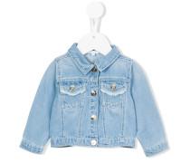 Jeansjacke mit Kent-Kragen - kids - Baumwolle