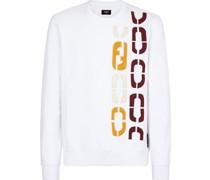 Sweatshirt mit FF-Stickerei