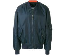 fur lined bomber jacket